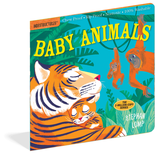 Indestructibles Books | Baby Animals
