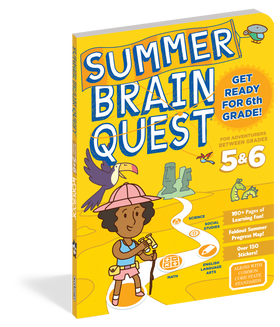 Brain Quest | Workbook ~ Summer: Between Grades 5 & 6