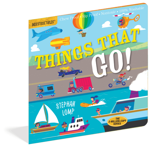 Indestructibles Books | Things That Go!