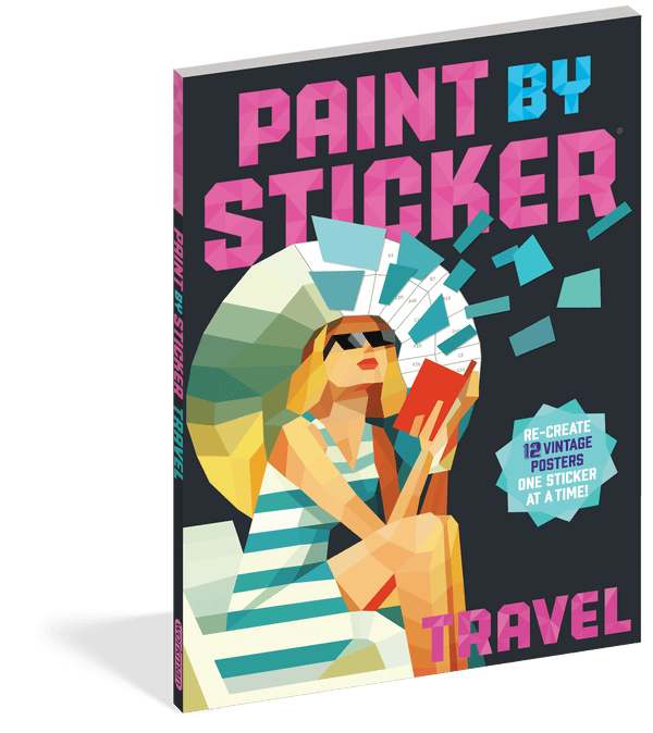 Paint by Sticker ~ Travel