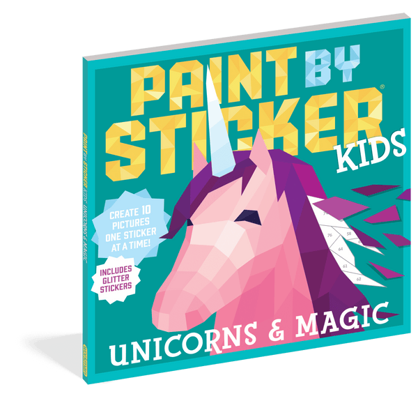 Paint by Sticker Kids | Unicorns & Magic