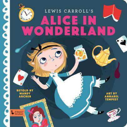 BabyLit Story Book | Alice In Wonderland
