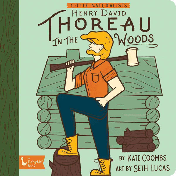 BabyLit Book | Henry David Thoreau In The Woods