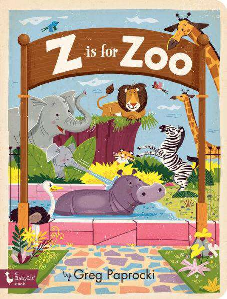 BabyLit Book | Z is for Zoo