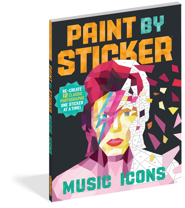 Paint by Sticker ~ Music Icons