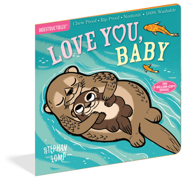 Indestructibles Books | Love You Baby