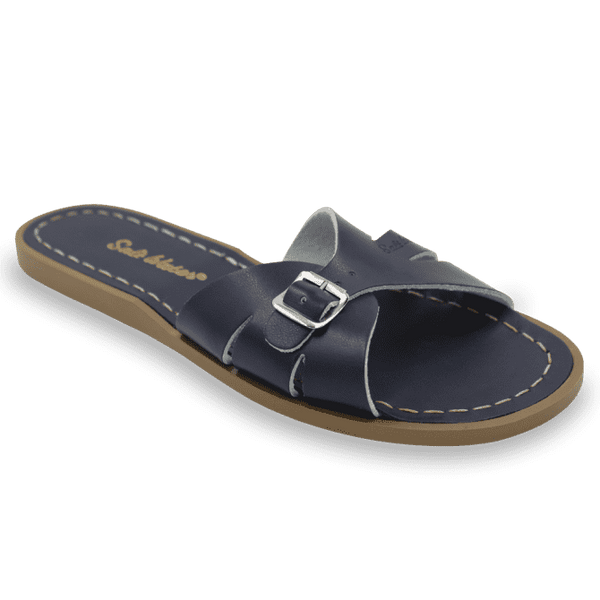 Salt Water Classic Slides | Navy (women's)