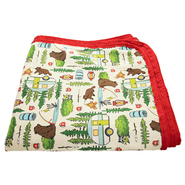 Smart Bottoms Beach Blanket | Campfire Tail