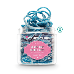 Candy Club ~ Berry Blue Sour Laces