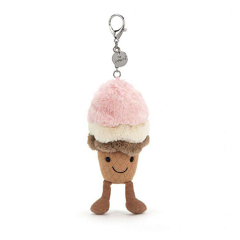 Jellycat Amuseables Ice Cream Bag Charm