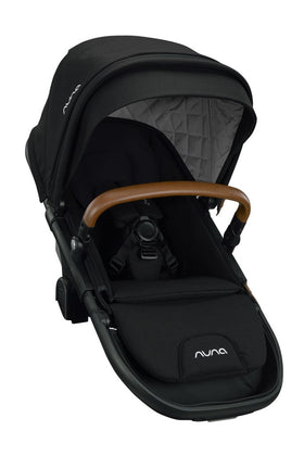 Nuna DEMI™ grow sibling seat + raincover + magnetic buckle | Caviar