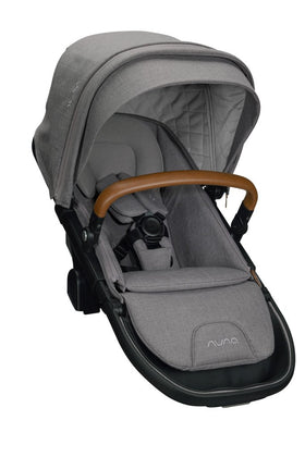 Nuna DEMI™ grow sibling seat + raincover + magnetic buckle | Frost
