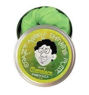 Crazy Aaron's Thinking Putty | Heat Sensitive Hypercolors Mini Tins