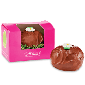 Abdallah Chocolate | Easter Selection ~ Fudge Nut Filled Dark Chocolate Egg 2.5 oz