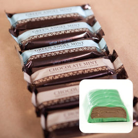 Abdallah Chocolate ~ Green Angel Mint Bar