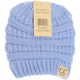 CC Beanie | Baby Solid ~ Pale Blue