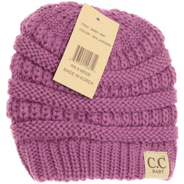 CC Beanie | Baby Solid ~ New Lavender