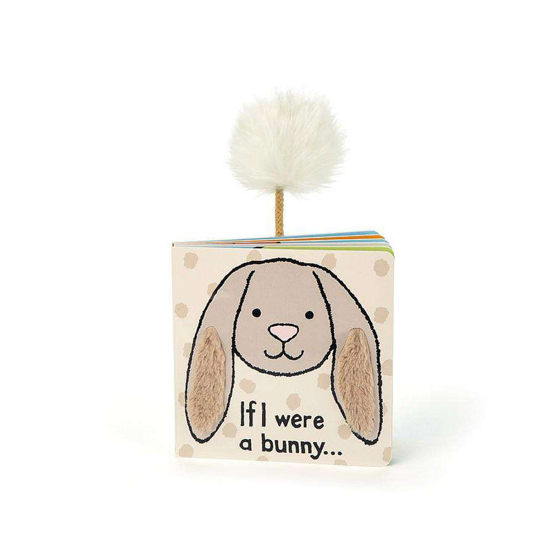 Jellycat If I Were a Bunny Board Book (Beige)