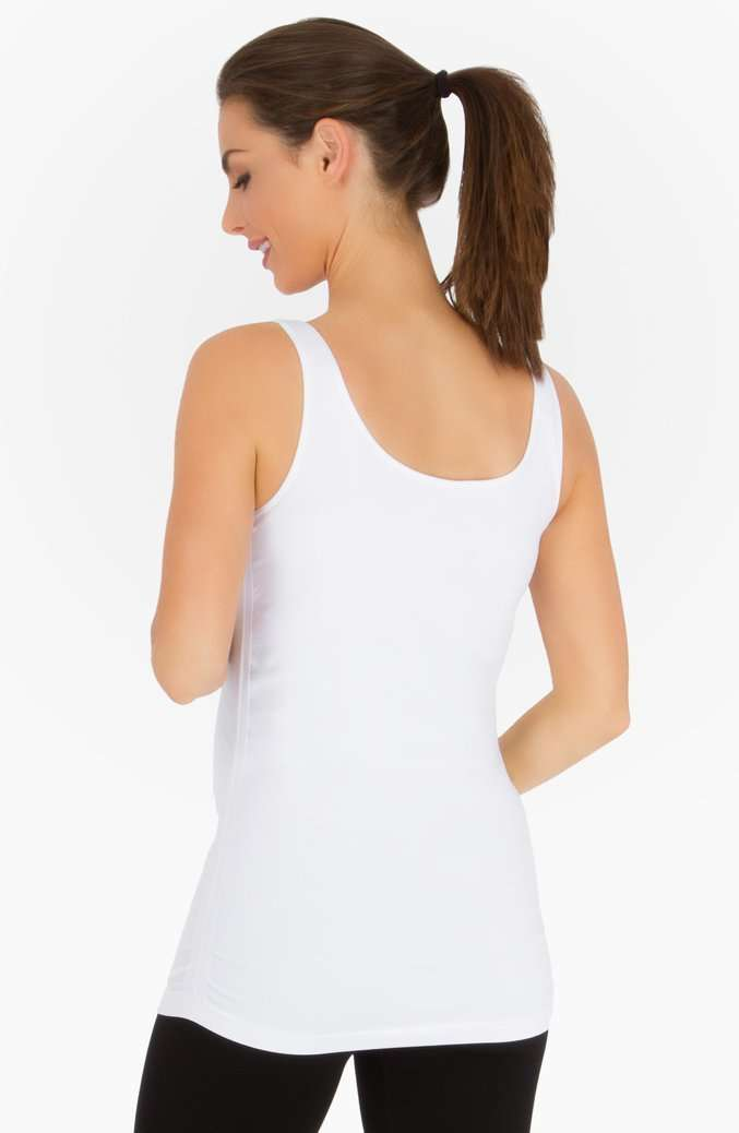 Belly Bandit | Perfect Nursing Collection | White Perfect Nursing Tank