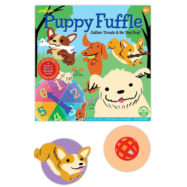 Eeboo | Puppy Fuffle Board Game