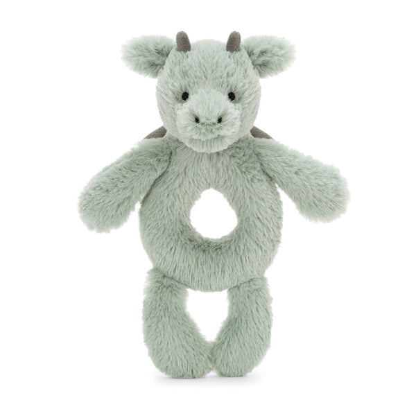 Jellycat Bashful Dragon Ring Rattle
