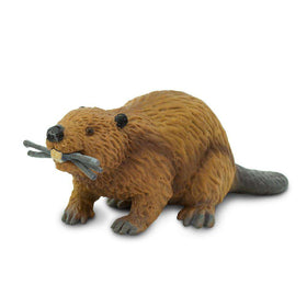 Safari LTD | Wild Safari North American Wildlife ~ BEAVER WITH STICKS