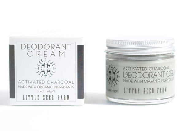 Little Seed Farm | DEODORANT CREAM ~ Activated Charcoal