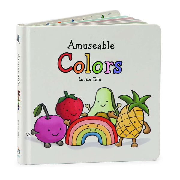 Jellycat Board Book ~ Amuseable Colors