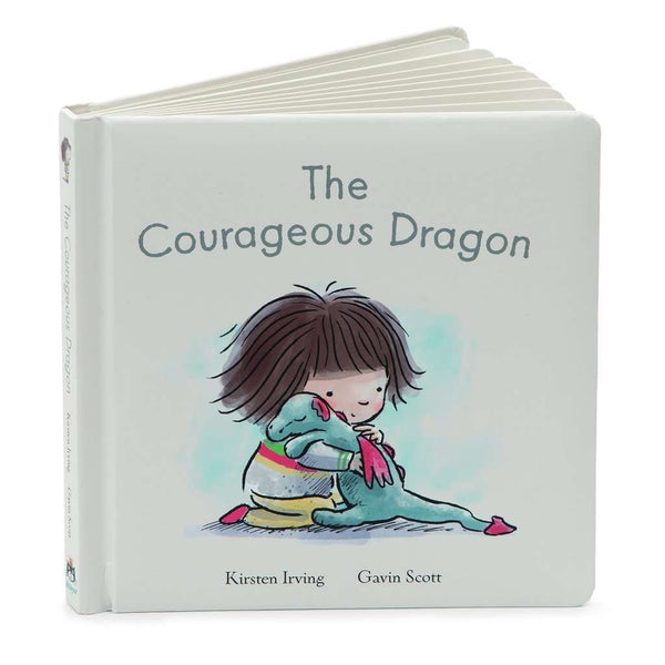 Jellycat Board Book ~ The Courageous Dragon