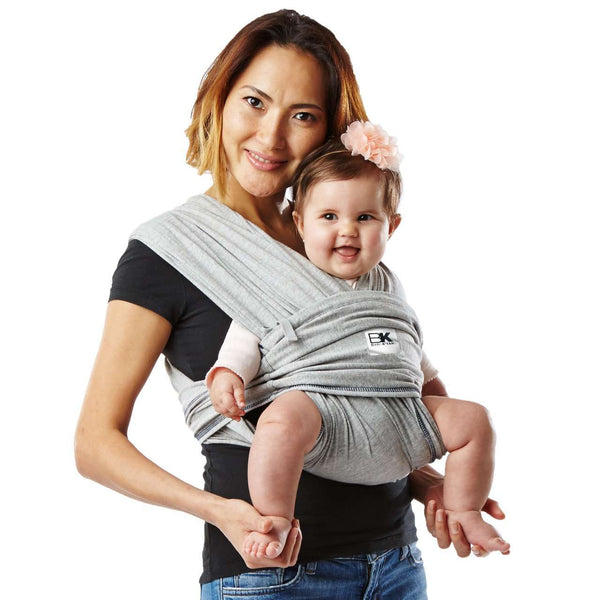 Baby Ktan | Original Baby Carrier ~ Heather Gray & Navy Trim