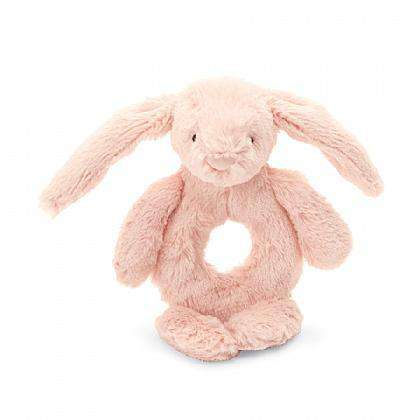 Jellycat Bashful Blush Bunny Ring Rattle