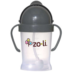 ZoLi Bot Straw Sippy | Grey