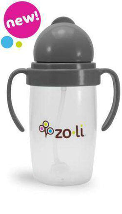 ZoLi Bot 2.0 Straw Sippy | Grey