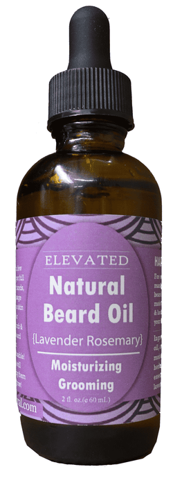 Taylor's ELAVETED | Natural Beard Oil ~ Lavender Rosemary
