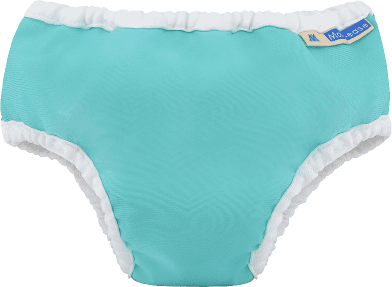 Mother Ease Cloth Diapers ~ Teal Tide Water Big Kid Training Pants