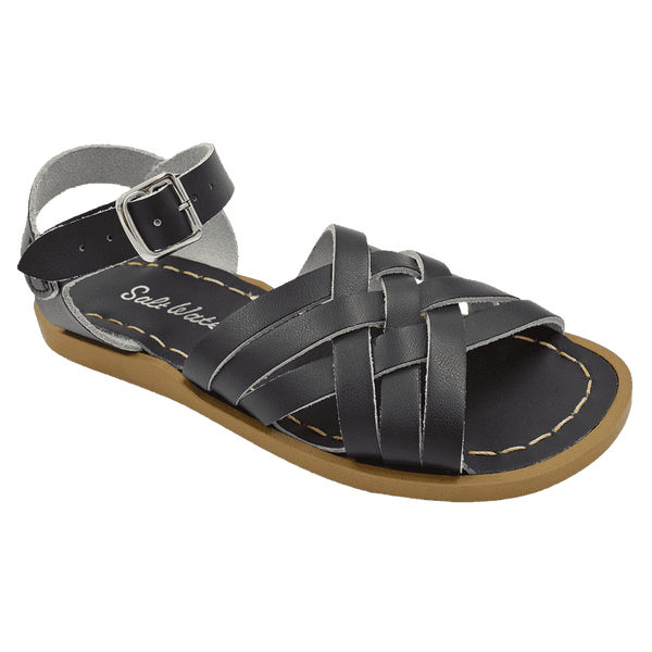 Salt Water Retro Sandal | Black (women's)