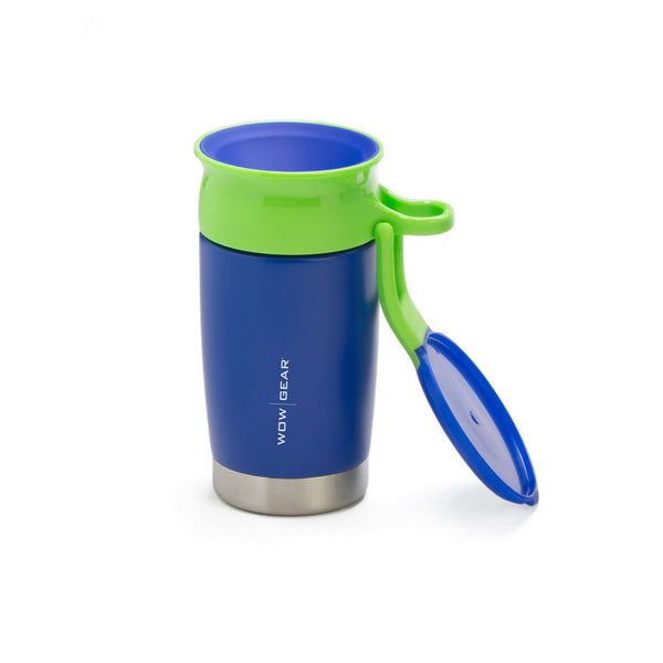 Wow Gear | Kids 360 Sports Bottle Stainless Insulated 10oz ~ Blue
