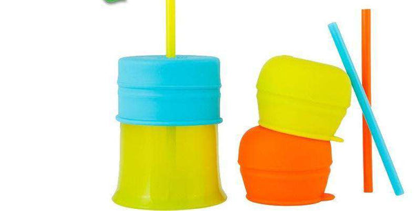 Boon | Snug Straw Lid and Cup ~ Green