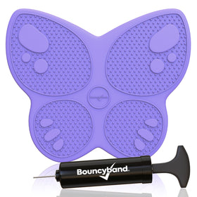 Bouncyband | Wiggle Seat Sensory Chair Cushion ~ Purple Butterfly