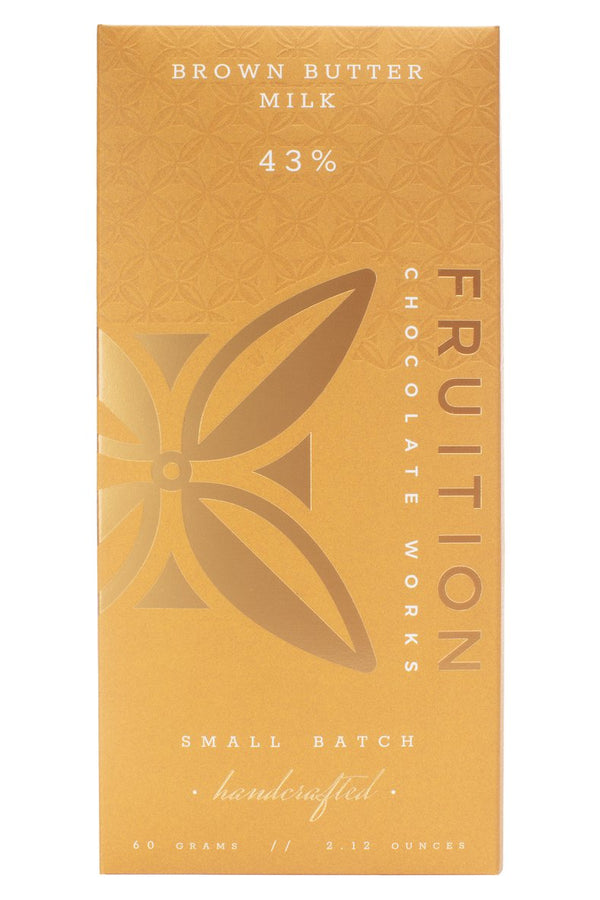 Fruition Chocolate - Brown Butter Milk Chocolate