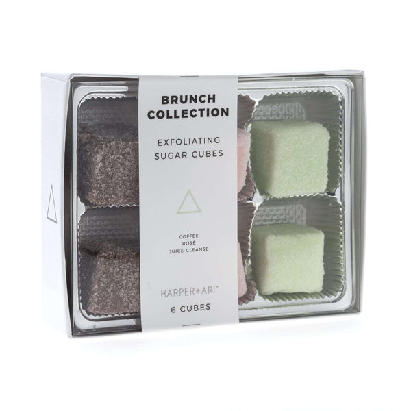 Harper + Ari | Exfoliating Sugar Cubes - Brunch Gift Box