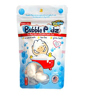 TruKid Bubble Podz | Watermelon Scented Bubble Bath Podz