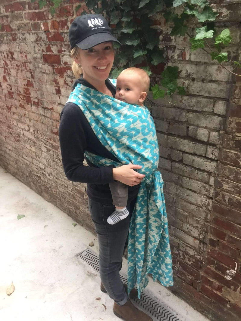 XOXO Baby Carrier | Buckle Wrap Tekhni Collection - Laurel Tidepool