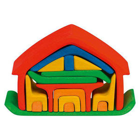 Gluckskafer Toys ~ All In One House With Furniture