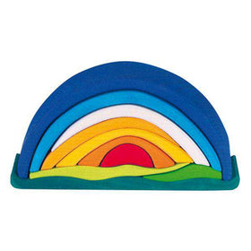 Gluckskafer Toys ~ Sunrise Stacking Puzzle
