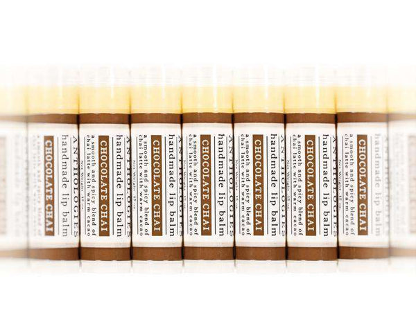 Live Beautifully - ANTHOLOGY LIP BALM - Chocolate Chai