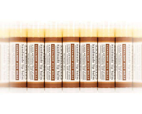 Live Beautifully - ANTHOLOGY LIP BALM - Cinnamon Nut Roll