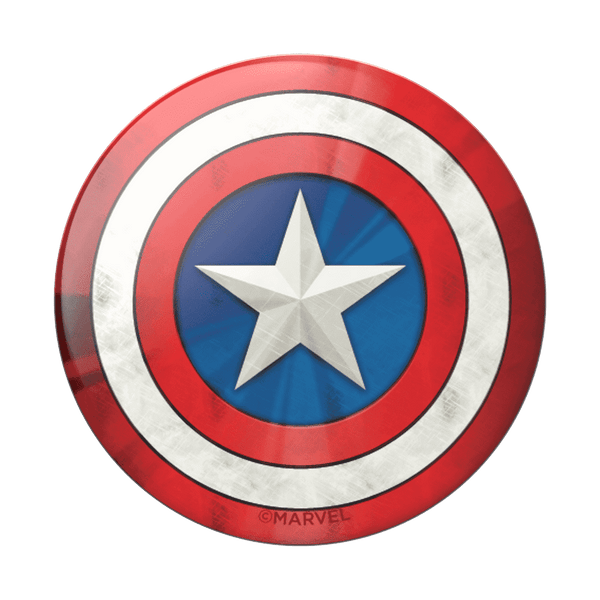 Popsockets | Complete Swappable PopGrip ~ Captain America