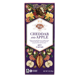 Vosges Chocolate ~ Cheddar And Apple Chocolate Bar