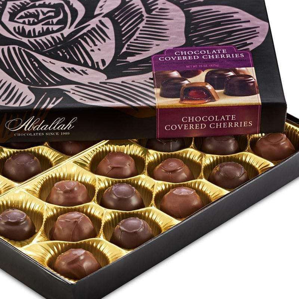 Abdallah Chocolate | Boxed Chocolate Selection ~ Chocolate Covered Cherries